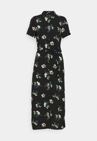 VMSIMPLY EASY LONG SHIRT - Shirt dress - black