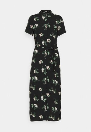 VMSIMPLY EASY LONG SHIRT - Sukienka koszulowa - black