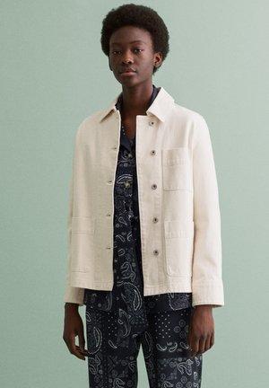 Summer jacket - eggshell
