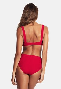 Seafolly - CAPRI SEA WIDE SIDE RETRO - Bikini bottoms - ruby - 1
