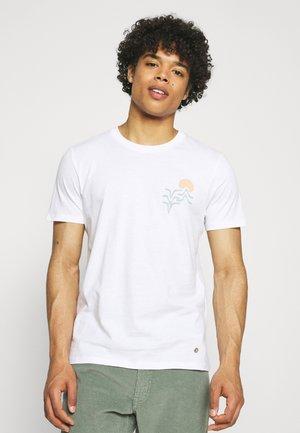 ARCY UNISEX - Print T-shirt - white