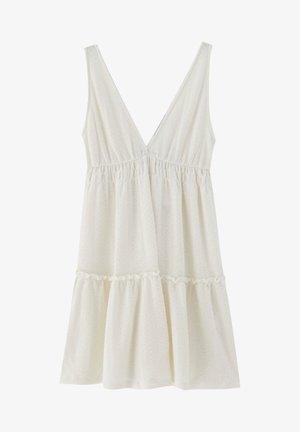 Denní šaty - mottled beige