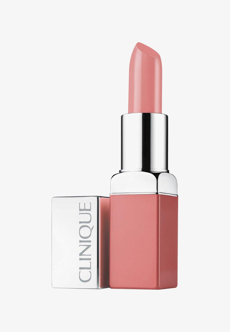 Clinique - POP LIP COLOUR & PRIMER - Lipstick - 01 nude pop