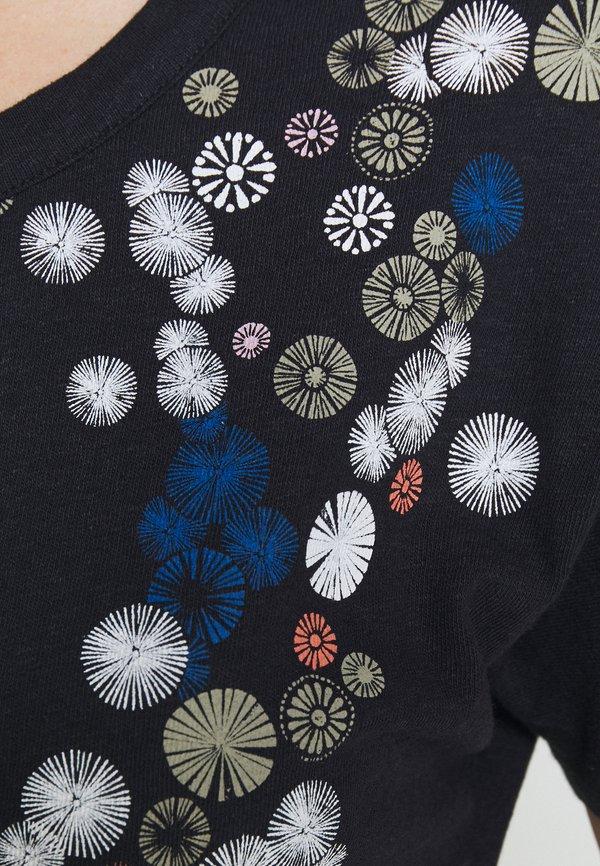 Esprit T-shirt z nadrukiem - navy Nadruk Odzież Damska ZFLC JD 9