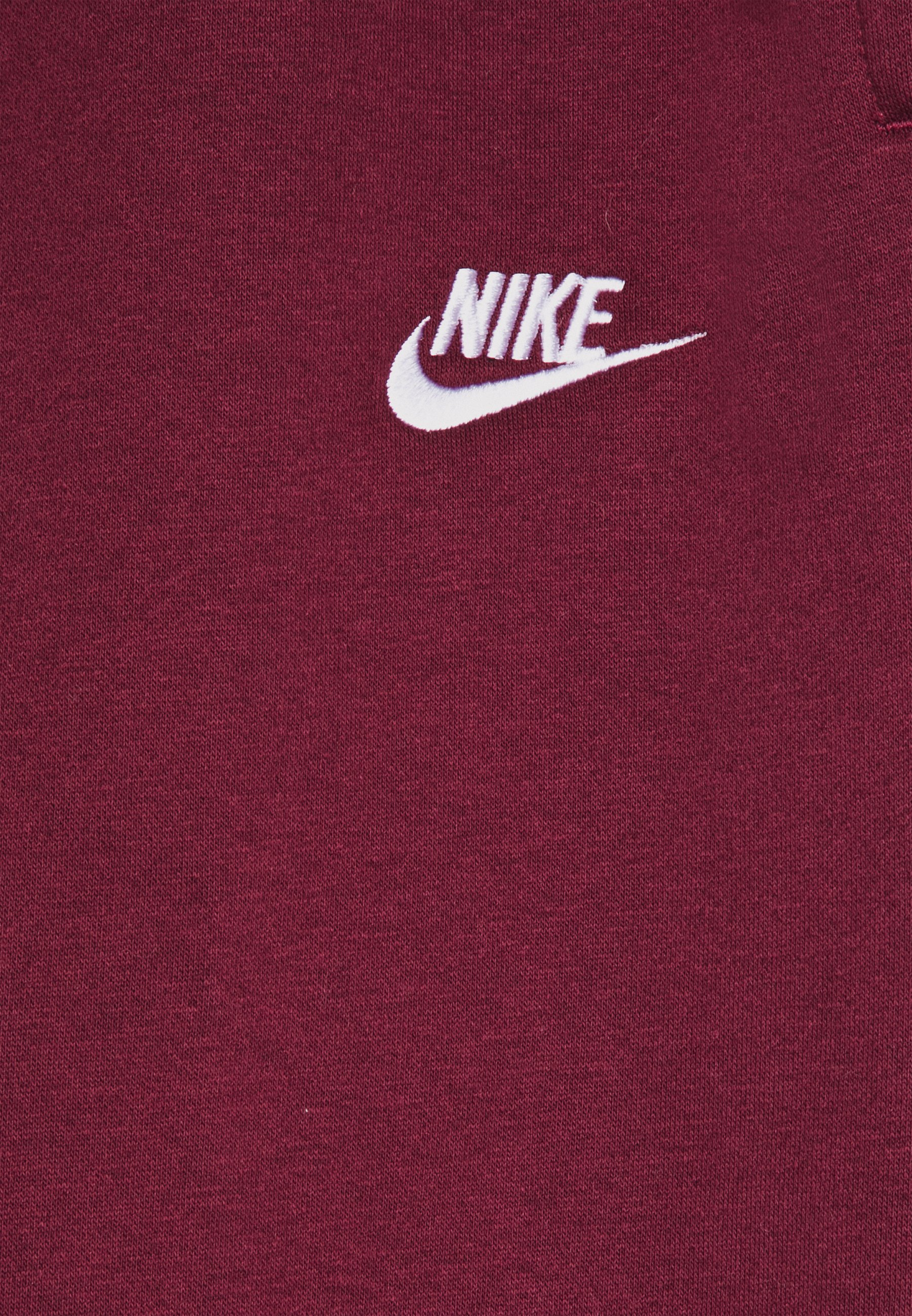 Nike Sportswear Joggebukse - Dark Beetroot/white/mørkerød