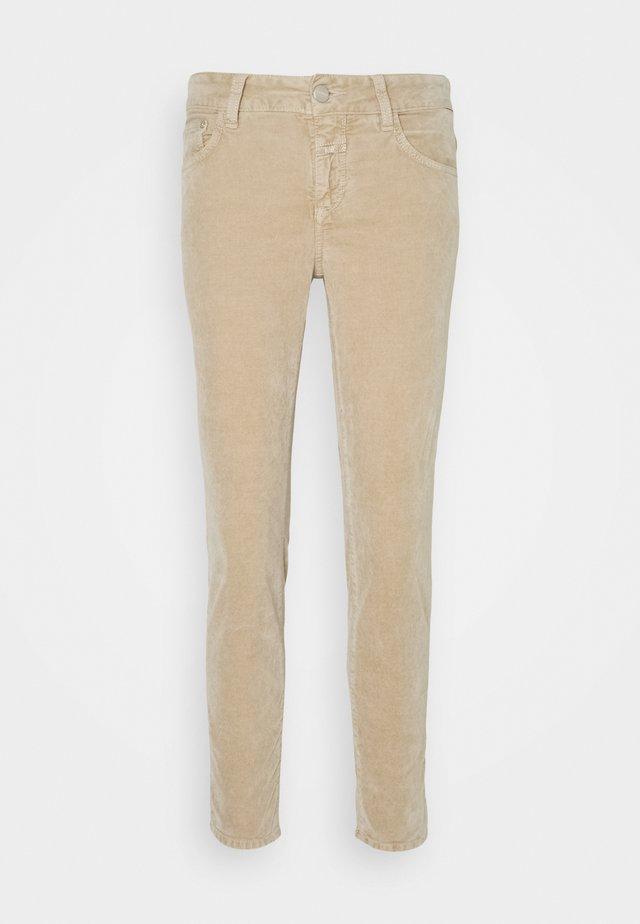 BAKER - Trousers - honey