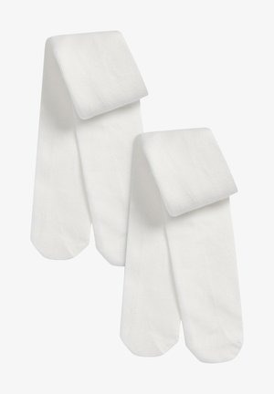 2 PACK - Sukkahousut - off-white