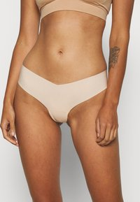 Gilly Hicks - NO SHOW THONG 3 PACK - Thong - nude - 1