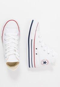 Converse - CHUCK TAYLOR ALL STAR PLATFORM EVA - Sneakers hoog - white/midnght navy/garnet - 0