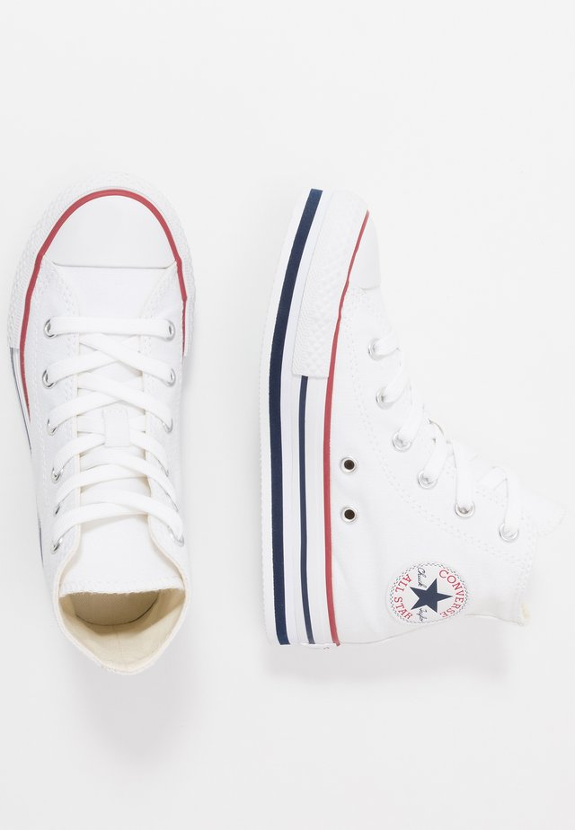 CHUCK TAYLOR ALL STAR PLATFORM EVA - Korkeavartiset tennarit - white/midnght navy/garnet