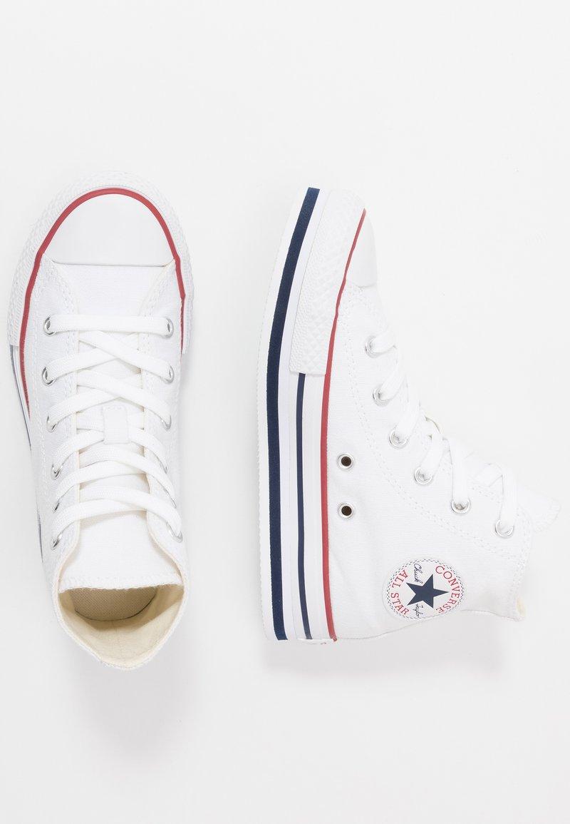 Converse - CHUCK TAYLOR ALL STAR PLATFORM EVA - Sneakers hoog - white/midnght navy/garnet
