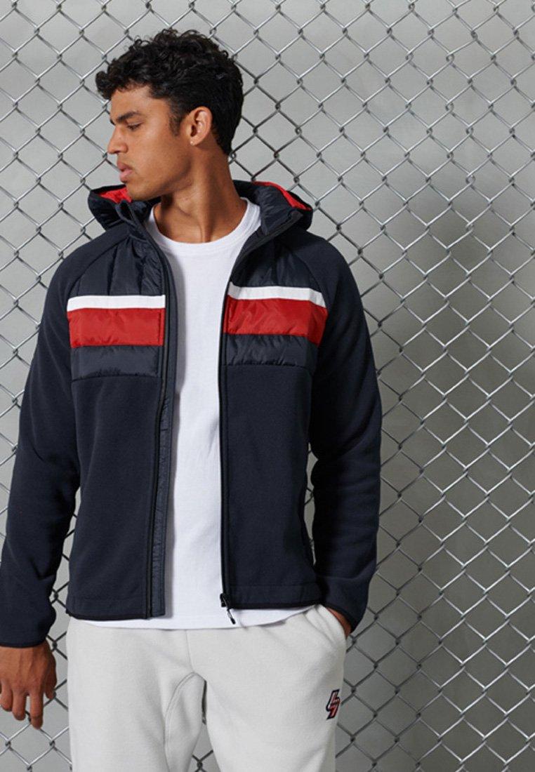Men CHESTBAND HYBRID - Zip-up sweatshirt