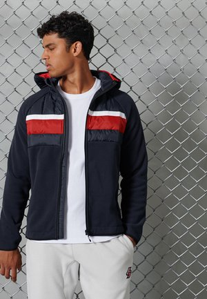 CHESTBAND HYBRID - Sweatjacke - nautical navy