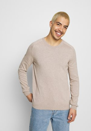 FIELD O NECK - Pullover - light feather gray