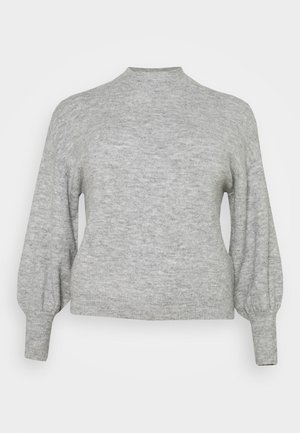 VMSIMONE HIGHNECK - Pullover - light grey melange