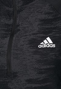 adidas Performance - ZIP - Sportshirt - black/white - 4