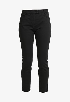 PANTS FIT LAXA CASUAL - Trousers - black