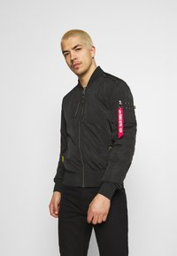 Alpha Industries - PARACHUTE - Bomber Jacket - black - 0