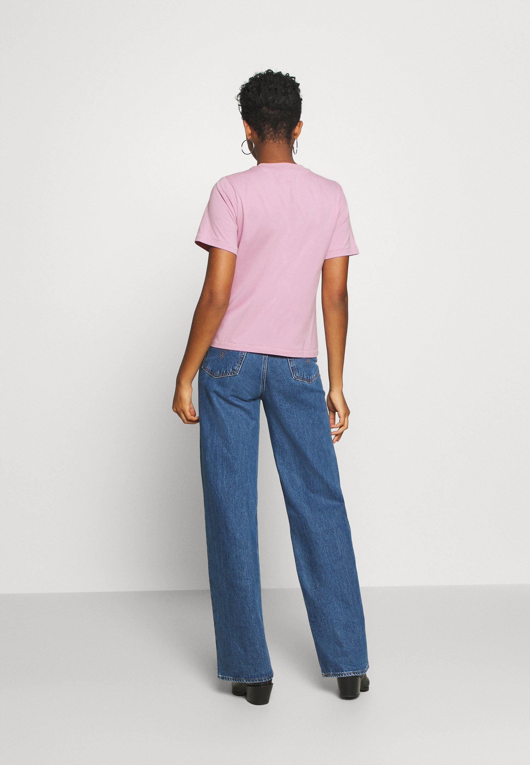 Pepe Jeans ADELLE - T-shirt con stampa - malva - Abbigliamento da donna Ordine