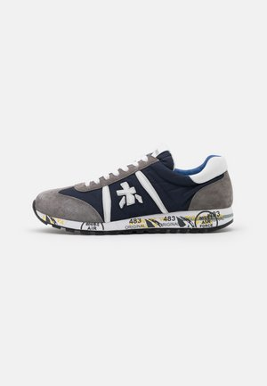 LUCY - Trainers - grey/blue