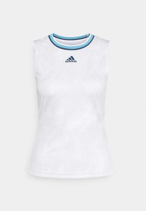 MATCH TANK  - Top - white/crenav