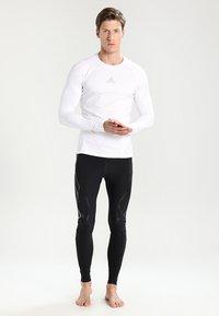 adidas Performance - Sports shirt - white - 1