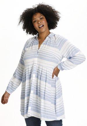 KCSYLIA - Sukienka koszulowa - forever blue / chalk stripe