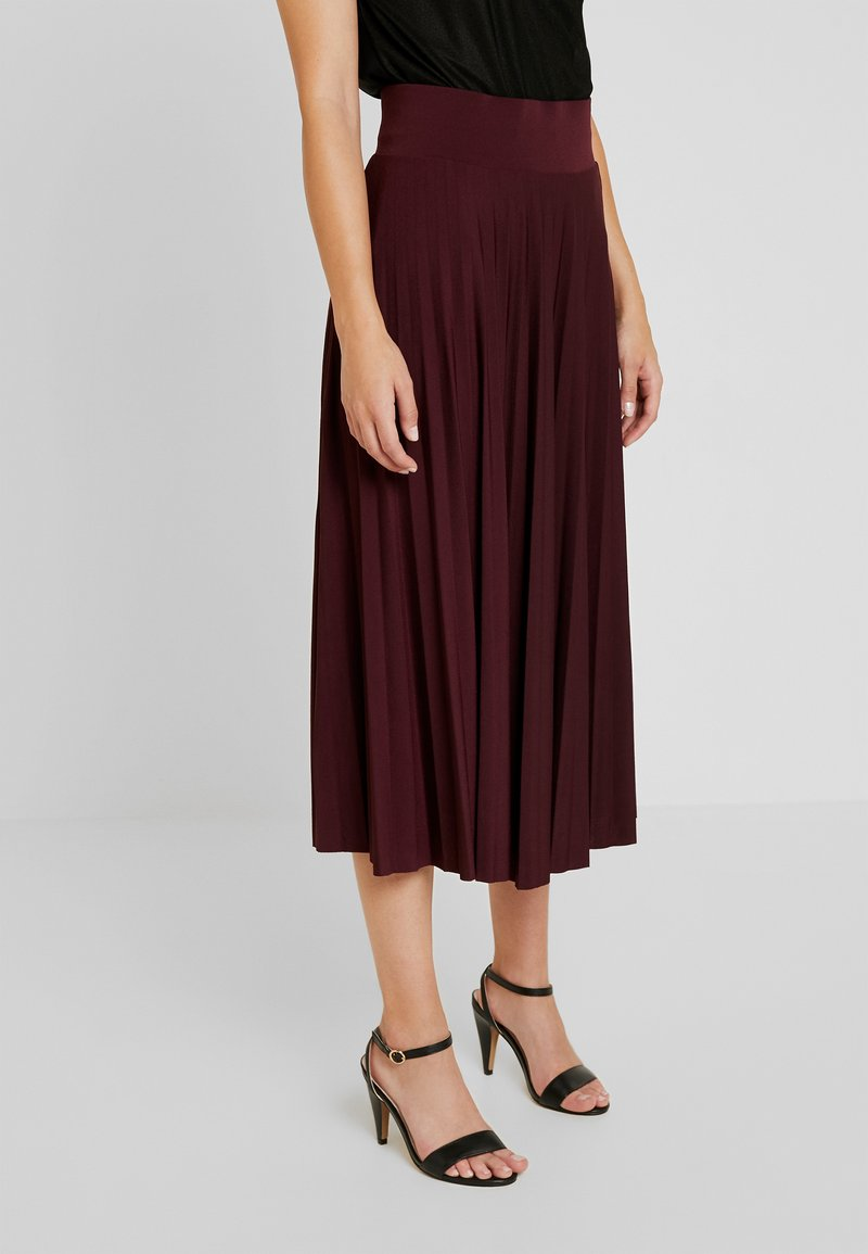 Anna Field Petite - A-line skirt - winetasting