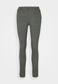 GEO ZIP BENGALINE  - Trousers - black