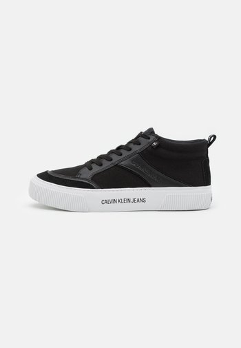 SKATE MID LACEUP MIX - High-top trainers - black