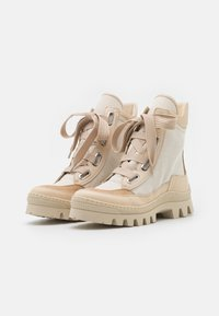 MAX&Co. - OTAY - Lace-up ankle boots - beige - 2