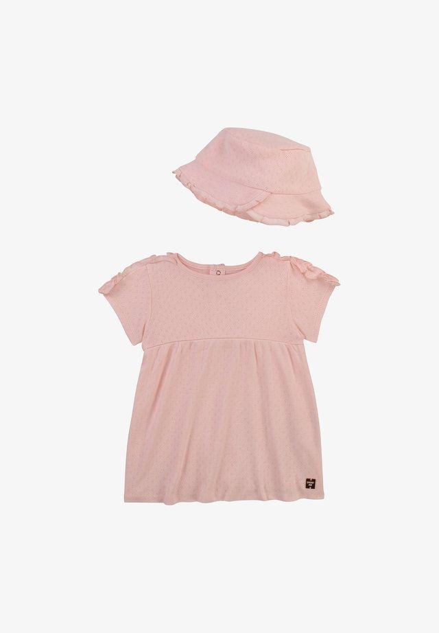 Robe en jersey - baby pink