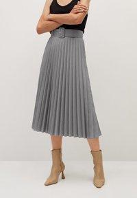Mango - LADY - A-line skirt - grau - 0