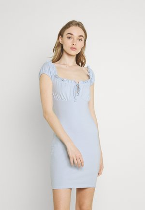 MY FRILL DRESS - Juhlamekko - light blue