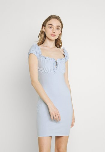 MY FRILL DRESS - Cocktail dress / Party dress - light blue