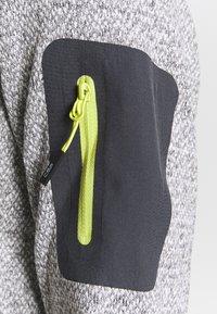 CMP - WOMAN JACKET - Fleece jacket - grey/bianco - 5