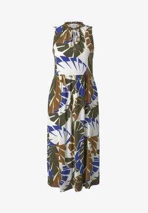 Vapaa-ajan mekko - multicolor botanical design