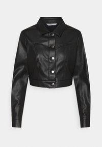 ONLWESTA  - Faux leather jacket - black