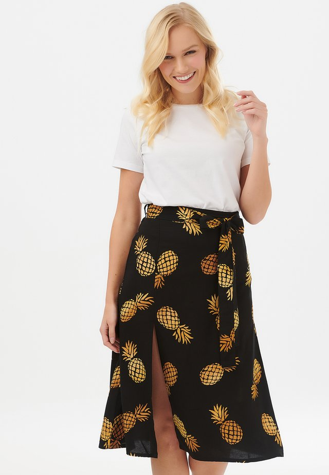 JACINDA PINEAPPLE BATIK - A-line skirt - green