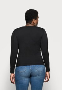 Anna Field Curvy - Långärmad tröja - black - 2
