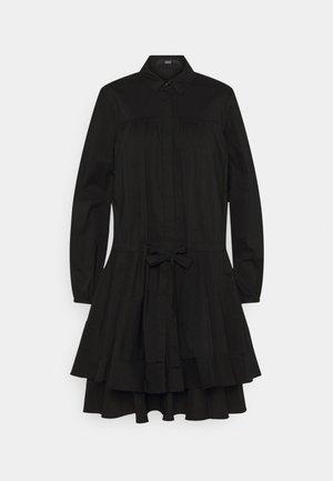 BROOKE FANCY DRESS - Košilové šaty - black