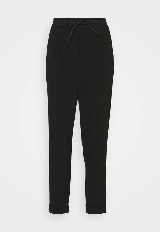 MIEKA - Kalhoty - black