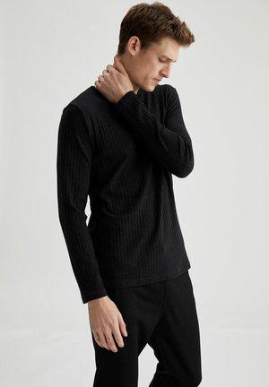T-shirt à manches longues - anthracite