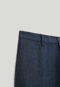 Massimo Dutti - Chinos - dark blue - 3