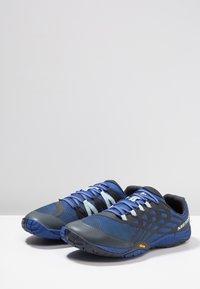 Merrell - GLOVE 4 - Trail running shoes - blue - 2