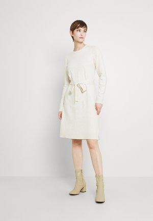 PCCAVA O NECK DRESS - Jumper dress - birch
