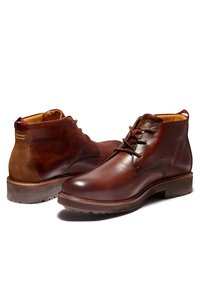 Timberland - OAKROCK WP CHUKKA - Lace-up ankle boots - med brown full grain - 3