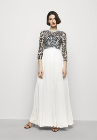 Needle & Thread - SEQUIN RIBBON LONG SLEEVE BODICE DRESS - Suknia balowa - crystal blue - 0