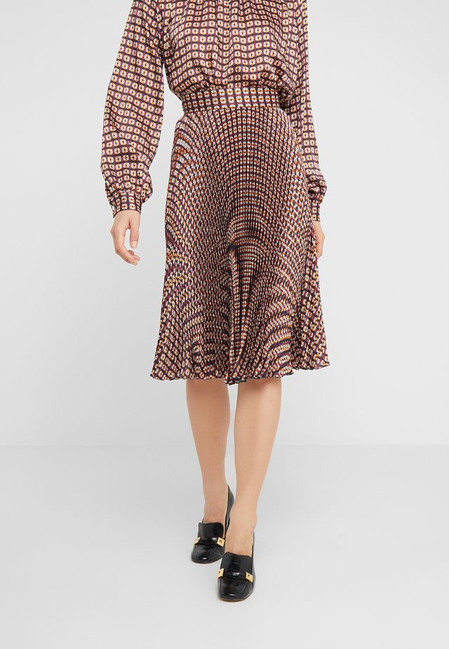 KASEY - A-line skirt - open beige