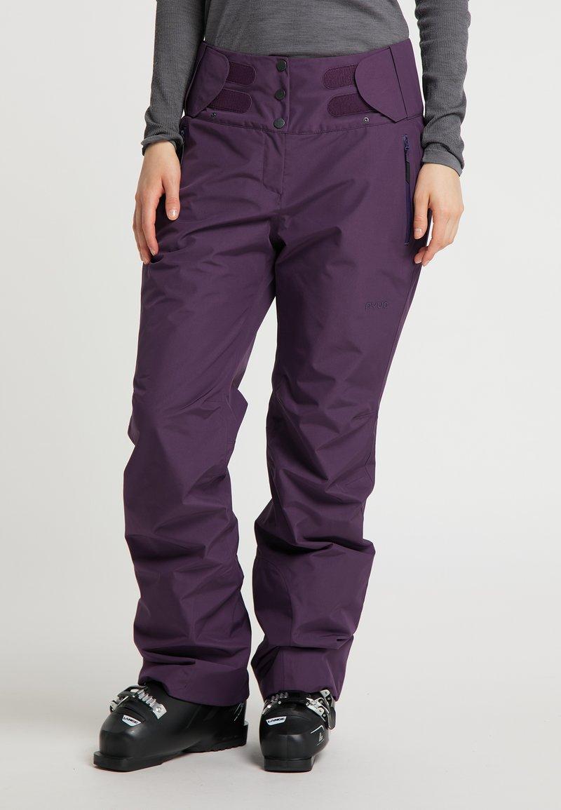 PYUA - Trousers - shadow purple